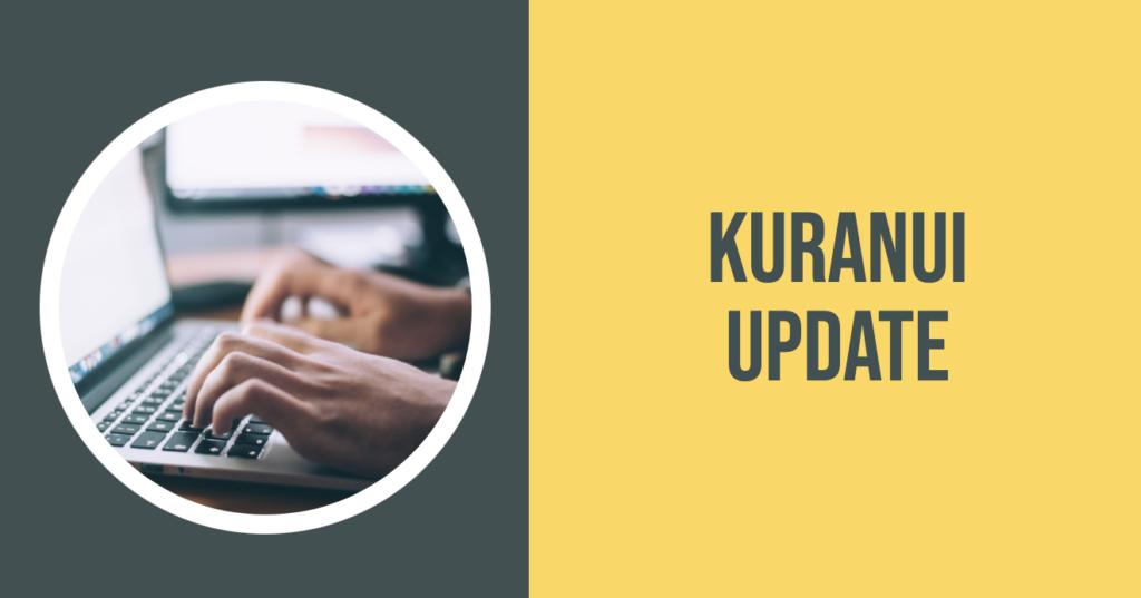Kuranui Update